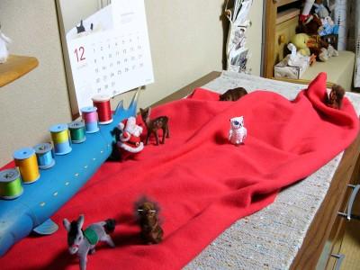08クリスマス・トイアニマル1