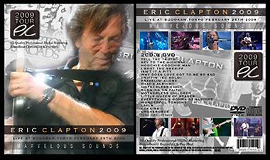 eric clapton2009 cddvd