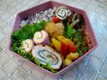 里芋コロッケ&大根サラダ