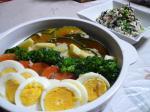 温野菜サラダ&菜の花の白和え