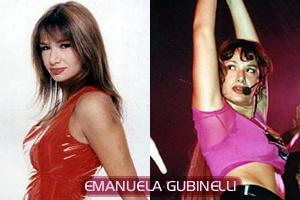 意外とお色気路線のEmanuela Gubinelli