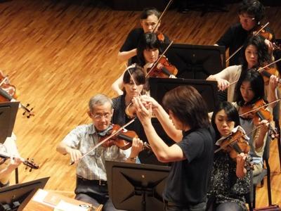 2ndヴァイオリンとマエストロ