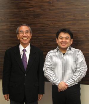 下野さん、丸谷先生