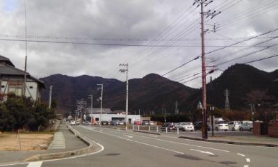 寺前の風景