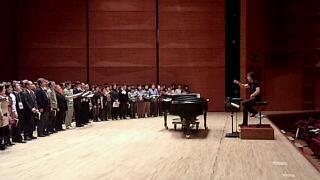 神戸第九合唱練習