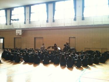 小学校の鑑賞会