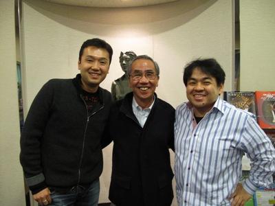中川さん、丸谷先生、下野さん