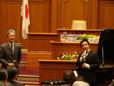 平松市長と監督で開催宣言