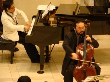 チェロとピアノ