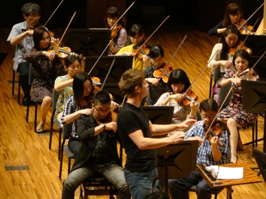 第1ヴァイオリンとマエストロ