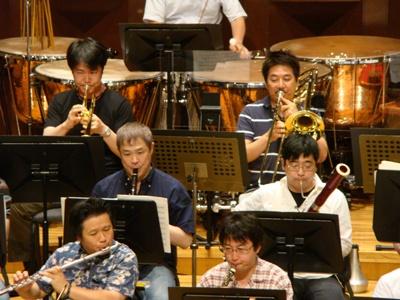 管楽器1番奏者たち