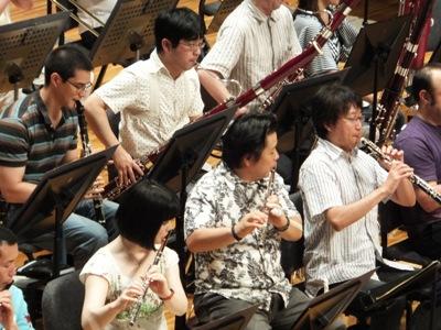 木管トップ奏者