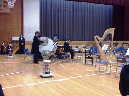 楽器紹介は打楽器パート