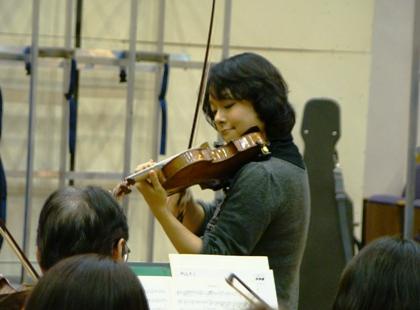 素晴らしいヴァイオリンソロ