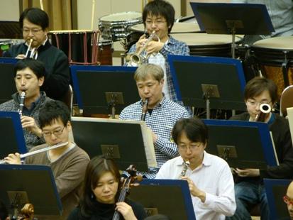 木管楽器のメンバー