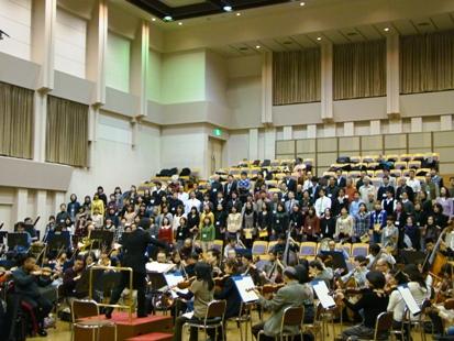 合唱団の練習風景