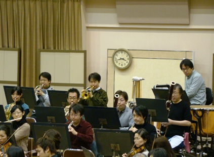 管楽器と打楽器
