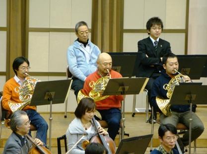 3楽章のホルン三重奏