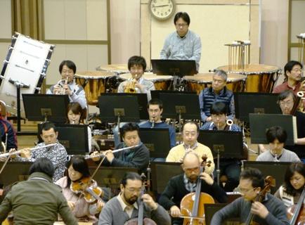 管楽器は2管編成