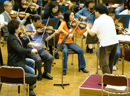 2ndヴァイオリントップの田中美奈