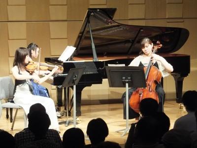 第14公演のピアノトリオ