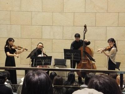 ロッシーニ弦楽のためのソナタ、演奏中