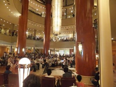 スイスホテル南海大阪6回ロビー
