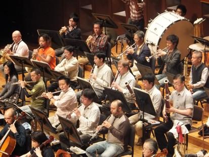 本日の木管楽器奏者たち