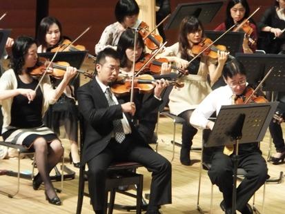 コンサートマスターは長原幸太