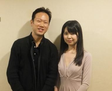 客演コンマス田野倉さんと寺下さんの2ショット