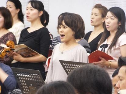 ジャンネッタ役の九嶋香奈枝さん