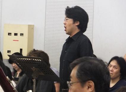 ベルコーレ役の成田博之さん