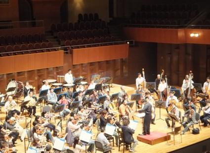 ベートーヴェン7番演奏風景