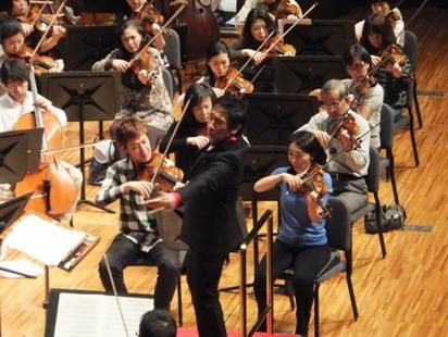 田中、佐久間率いる2ndヴァイオリンと監督