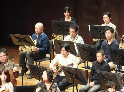 オーケストラにマンドリンが!