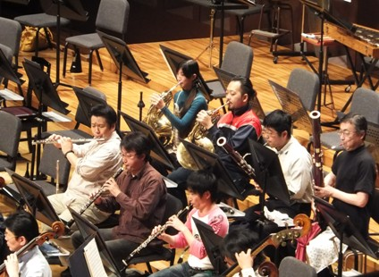 シューベルトの管楽器