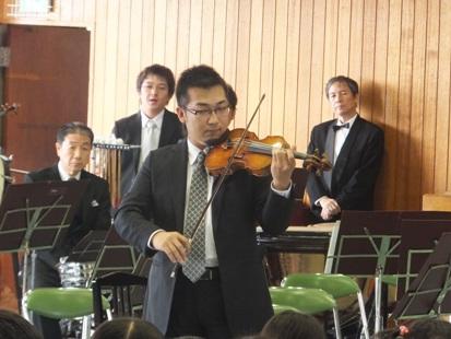 楽器紹介はヴァイオリンから、コンマス長原です!