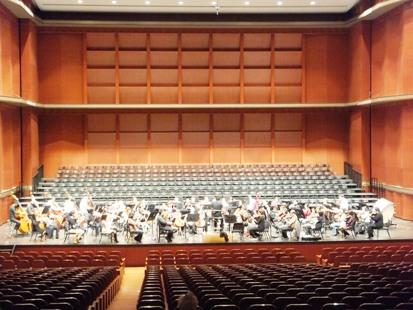 管楽器も合唱団もいないとこんな感じに