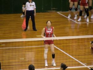 高橋みゆき選手(NEC)