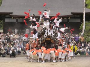 弓弦羽神社宮入1