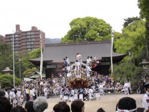 弓弦羽神社宮入3
