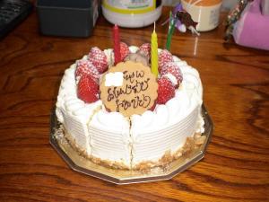 2歳お誕生日ケーキ