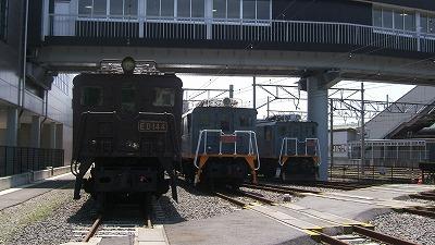 電気機関車三銃士