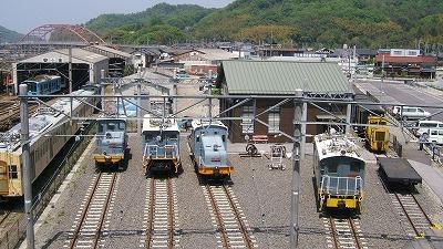 近江鉄道ミュージアム全景