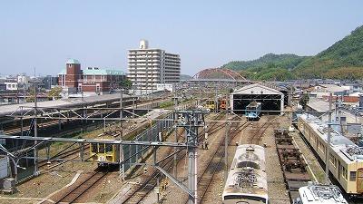 彦根駅車両基地