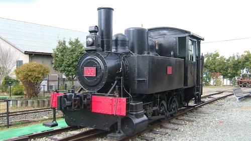 加悦SL広場103号機関車
