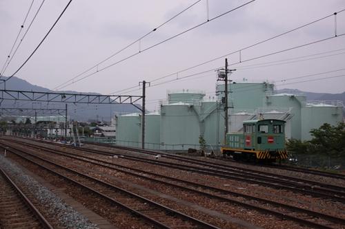坂城駅側線