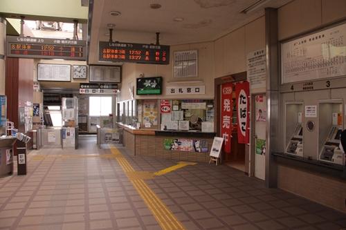 上田駅しなの鉄道改札口