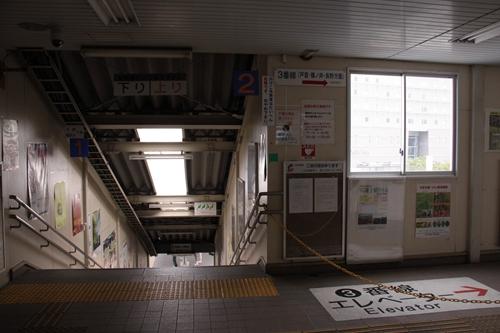 上田駅しなの鉄道改札先通路