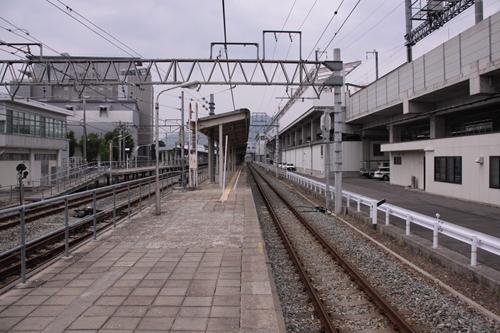 上田駅しなの鉄道1番線・2番線ホーム篠ノ井方面